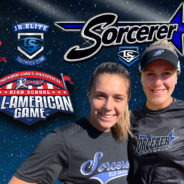 Hope Alley & Julia Scardina at PGF All American Game