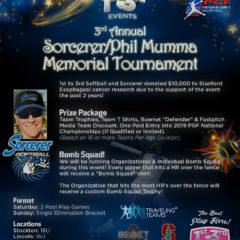 3rd Annual Phil Mumma Memorial Tourney!